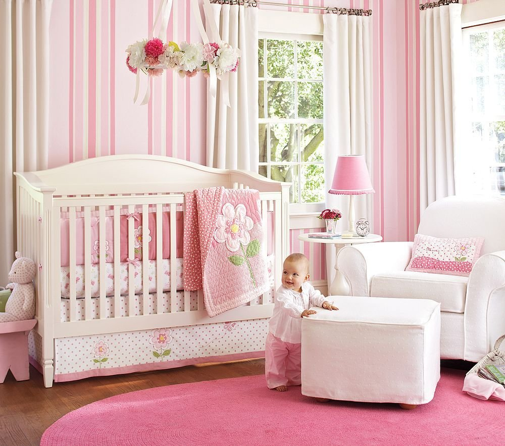 Best Nice Pink Bedding For Pretty Baby Girl Nursery From With Pictures