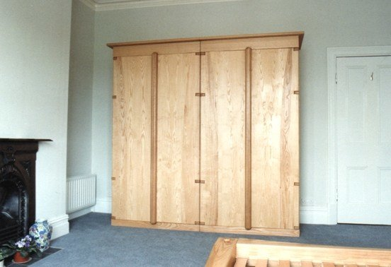 Best Slatted Bed And Matching Free Standing Wardrobe With Pictures
