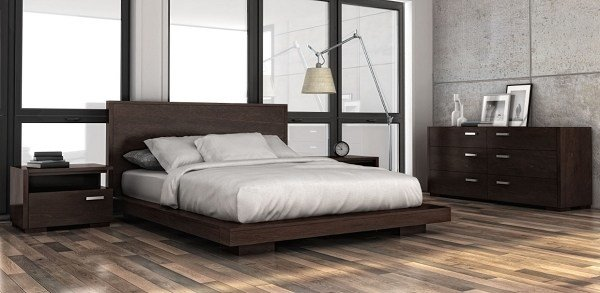 Best Paris King Size Platform Bed By Huppe 4253 With Pictures