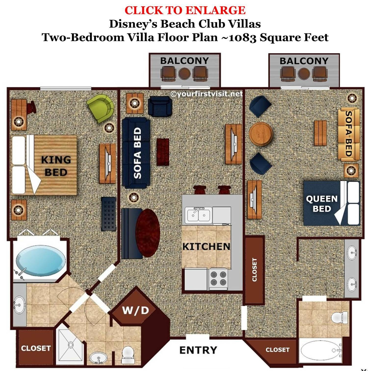 Best Review Disney S Beach Club Villas Continued With Pictures