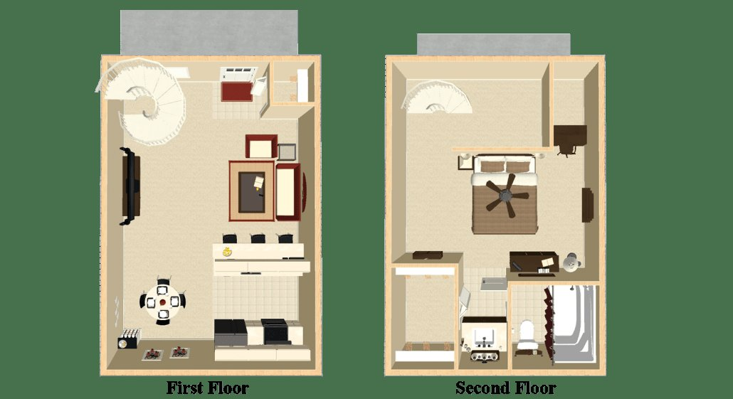Best Apartments For Rent In Indianapolis Indiana 1 Bedroom Apartment The Mcintosh Loft With Pictures