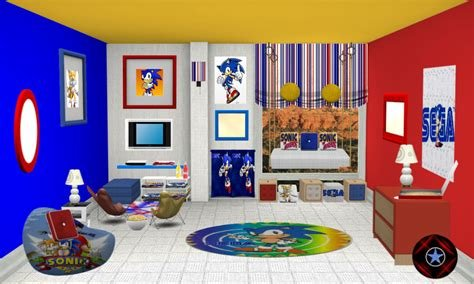 Best Sonic The Hedgehog Bedroom Decor Coma Frique Studio With Pictures