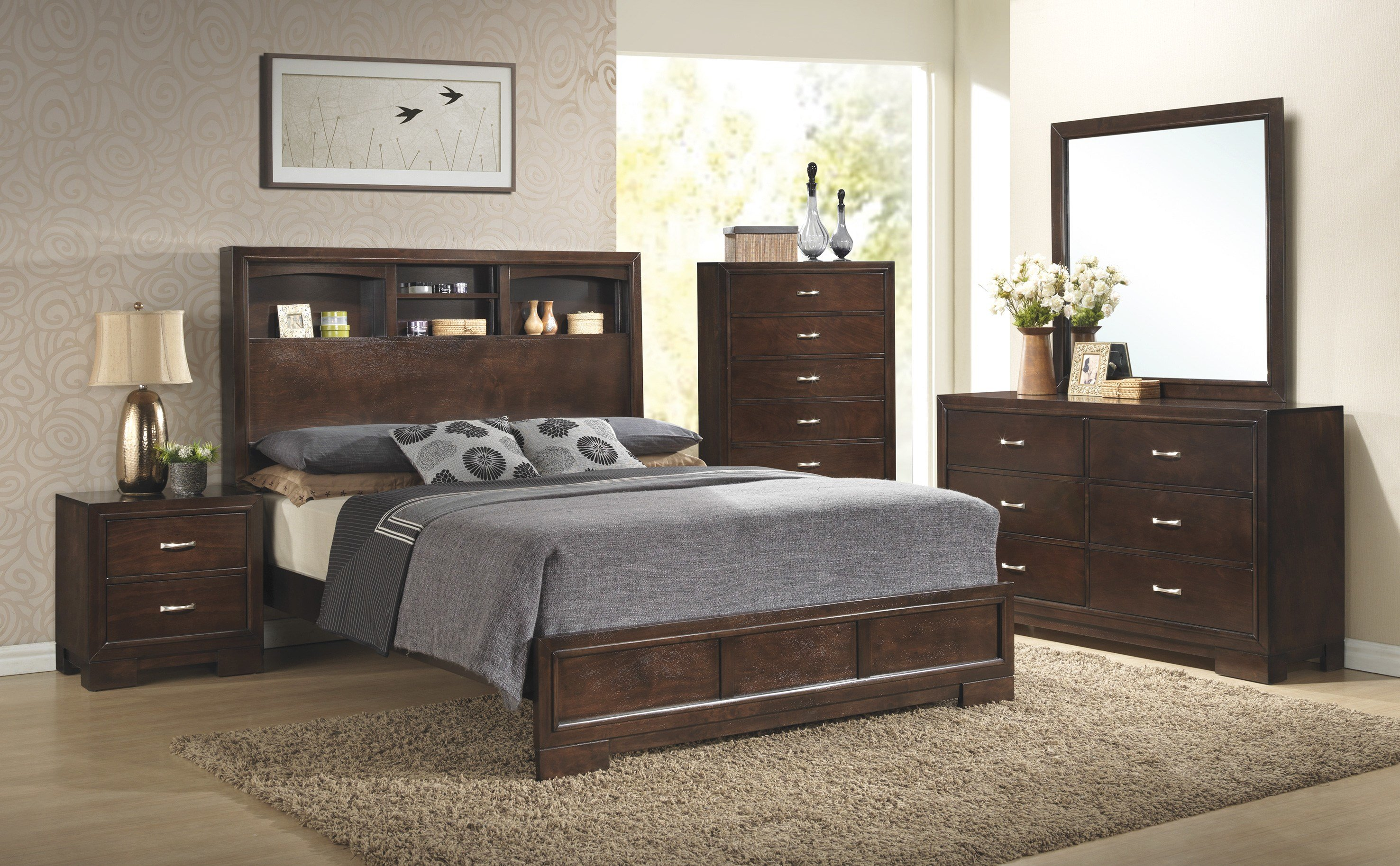 Best C4233A Walnut Bedroom – Awfco Catalog Site With Pictures