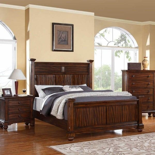 Best Forester Honey Oak Wood 3 Piece Bedroom Set 15998524 With Pictures