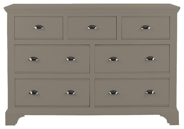 Best Downton Bedroom Furniture Chest 4 3 Drawers In Urban Grey With Pictures