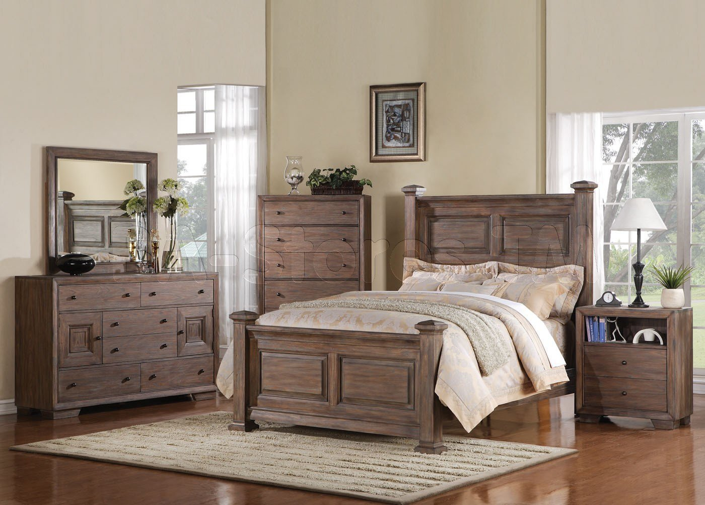 Best Equinox Dresser In Distressed Ash Acme Furniture 117720 With Pictures