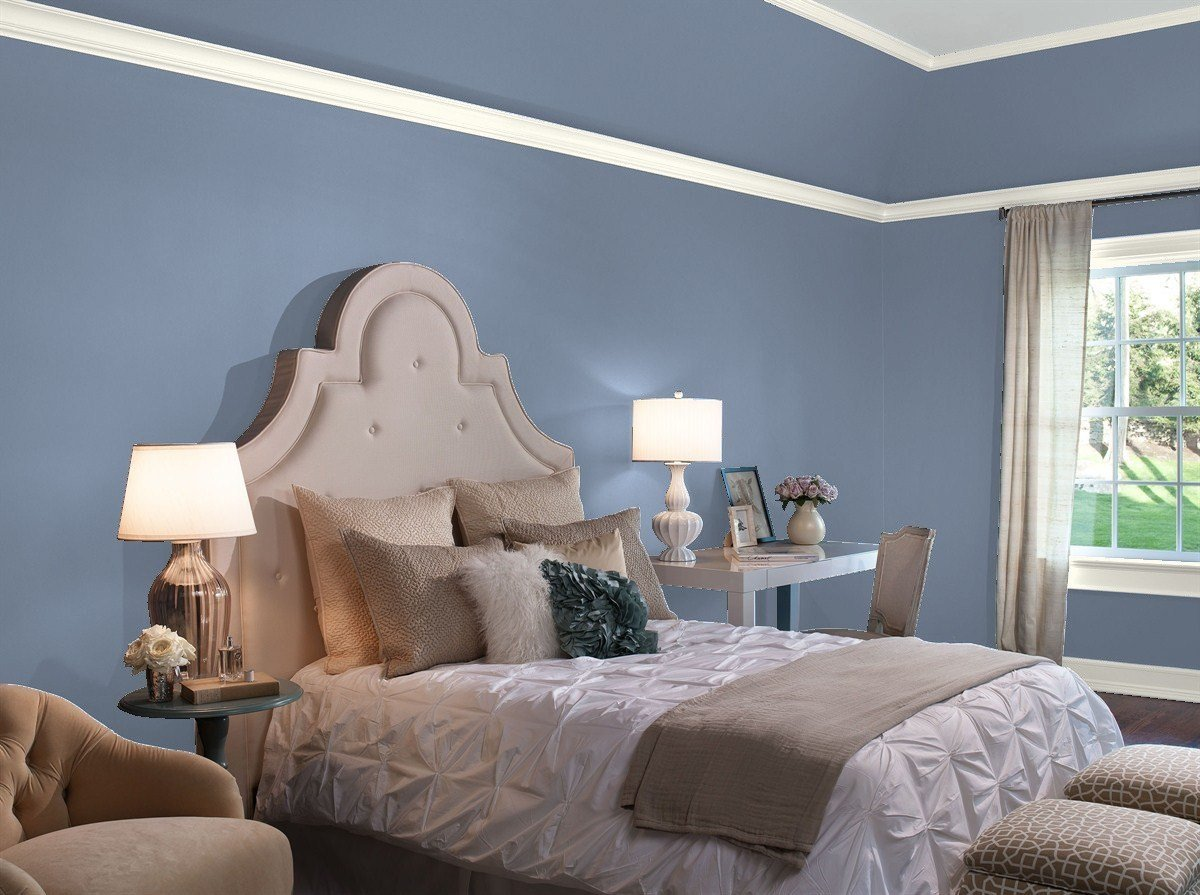 Best Our Favorite Blue Bedroom Paint Colors By Benjamin Moore With Pictures