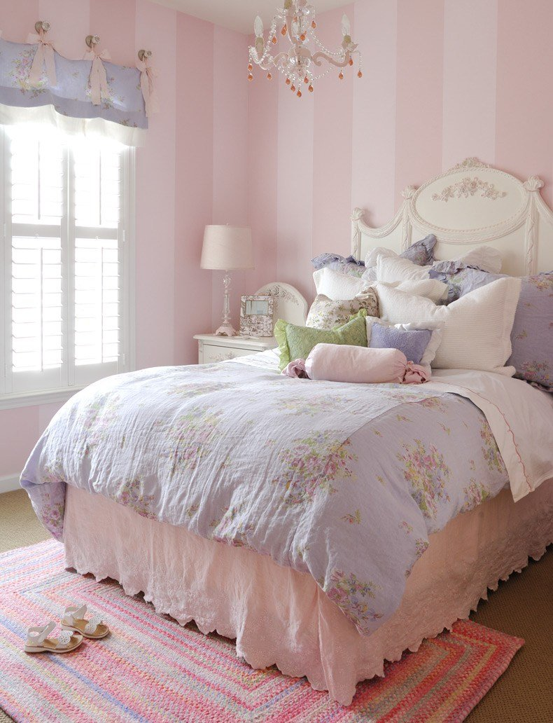 Best Luxury Vintage Bedding For Girls Colorful Kids Rooms With Pictures