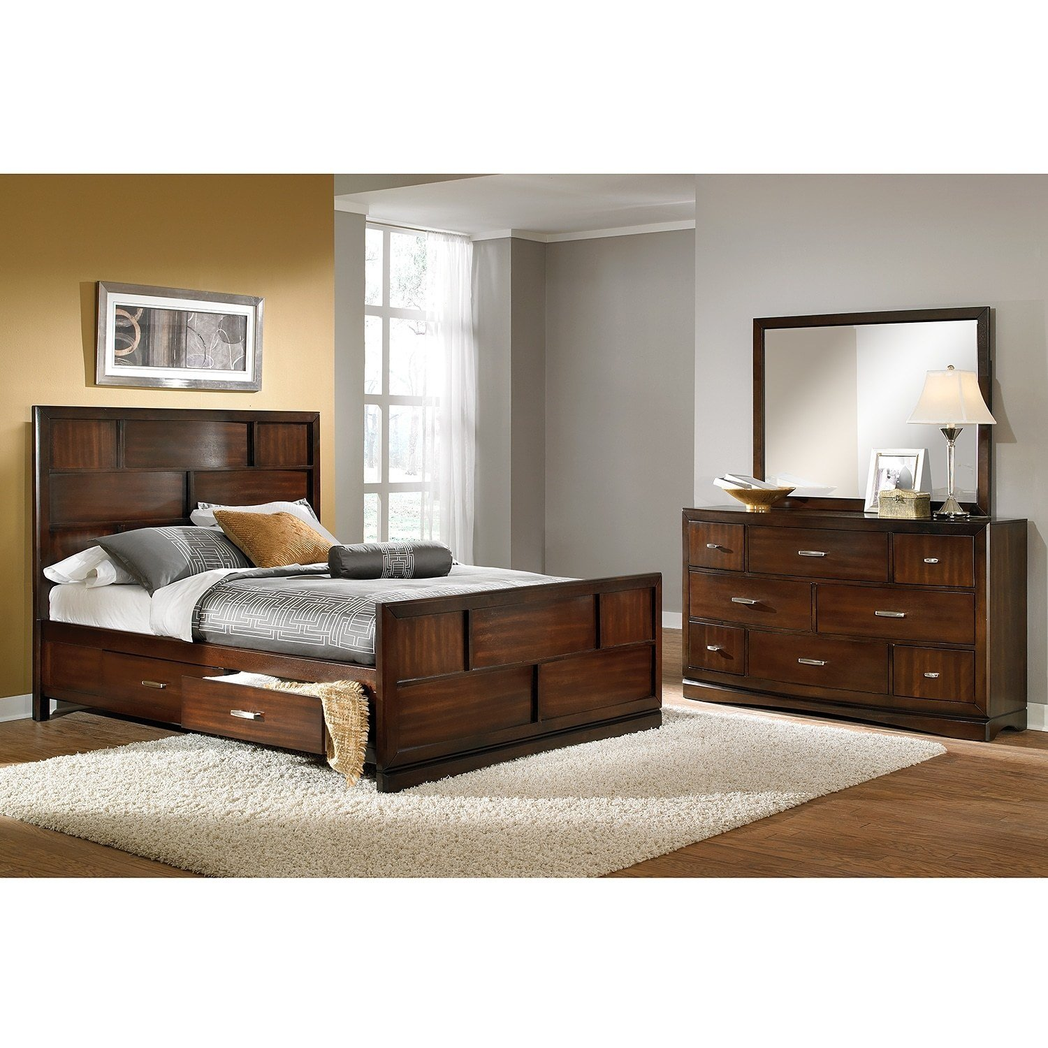 Best Shop Bedroom Packages Value City Furniture With Pictures