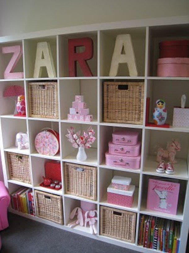 Best She Buys Storage Cube Shelves Uses Them In Clever New With Pictures