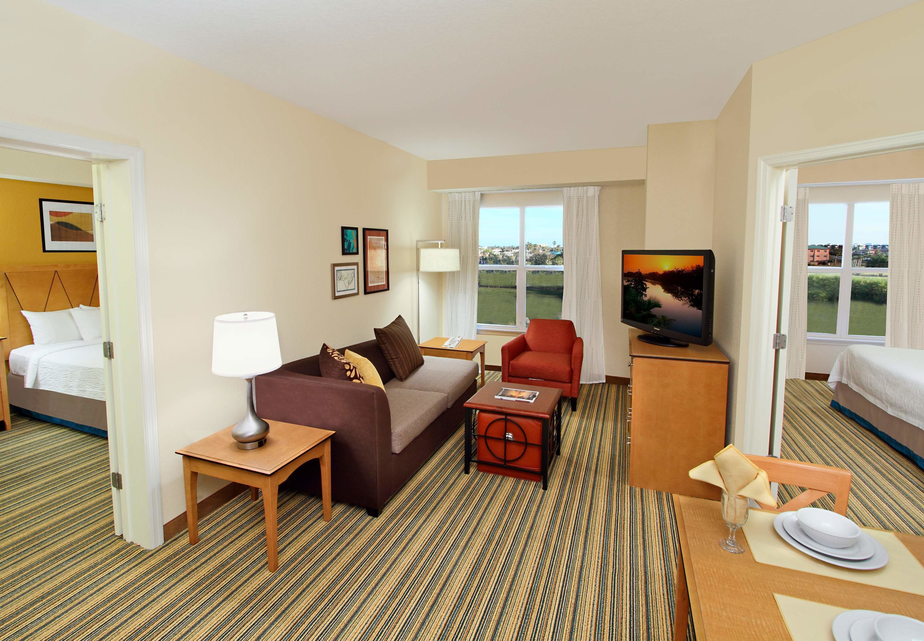 Best Two Bedroom Suite Residence Inn Cape Canaveral Cocoa Beach With Pictures
