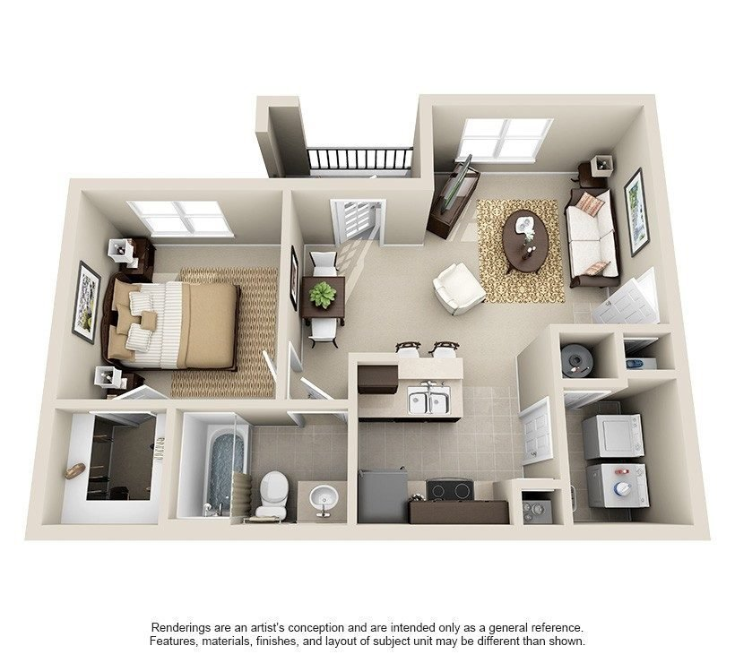 Best 3 Bedroom 2 Bath Apartments Near Me Images About Desain With Pictures
