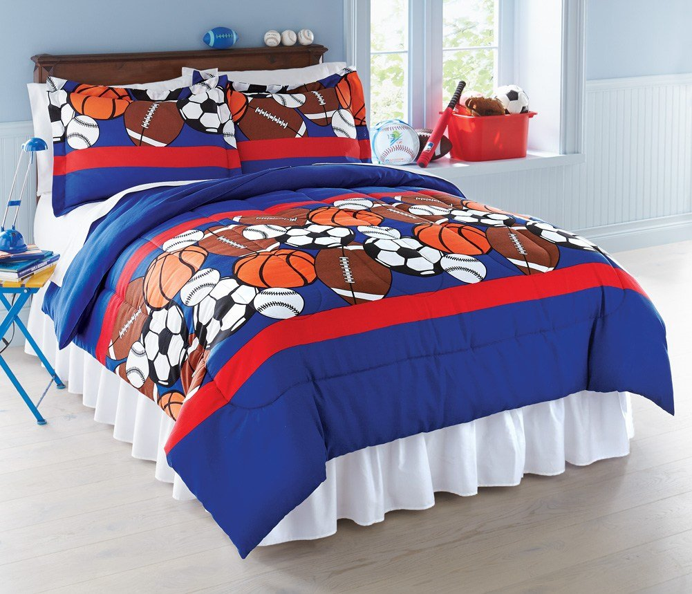 Best Collections Etc Sports Themed Bedroom Comforter Set With Pictures