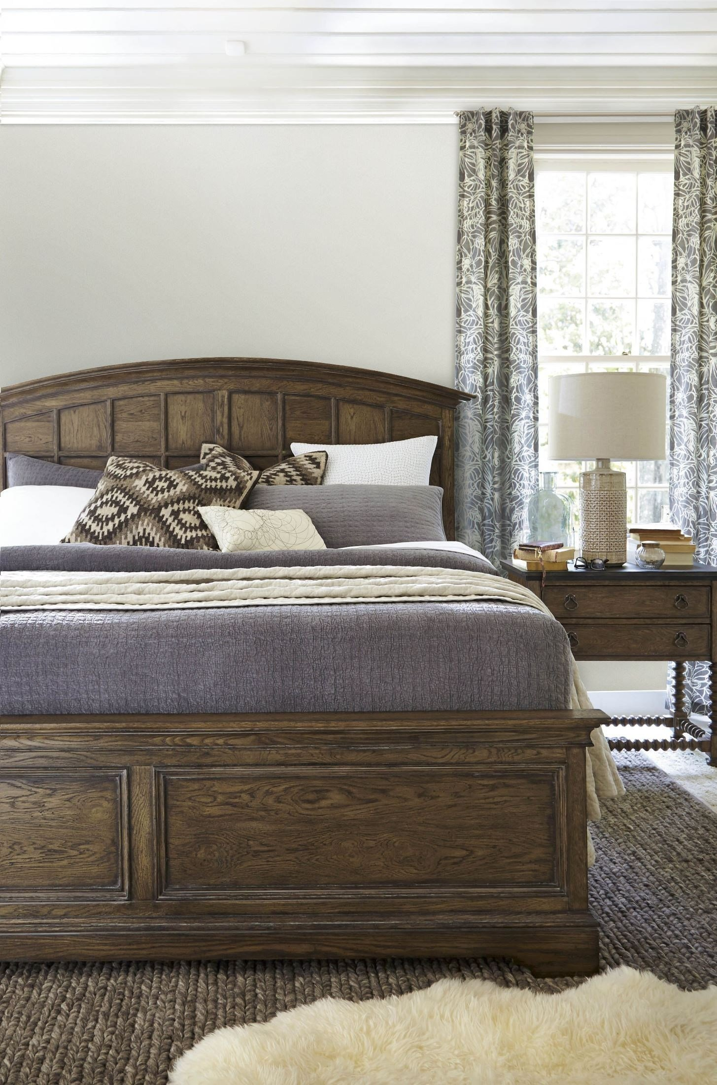Best New Bohemian Bedroom Set 450250B With Pictures