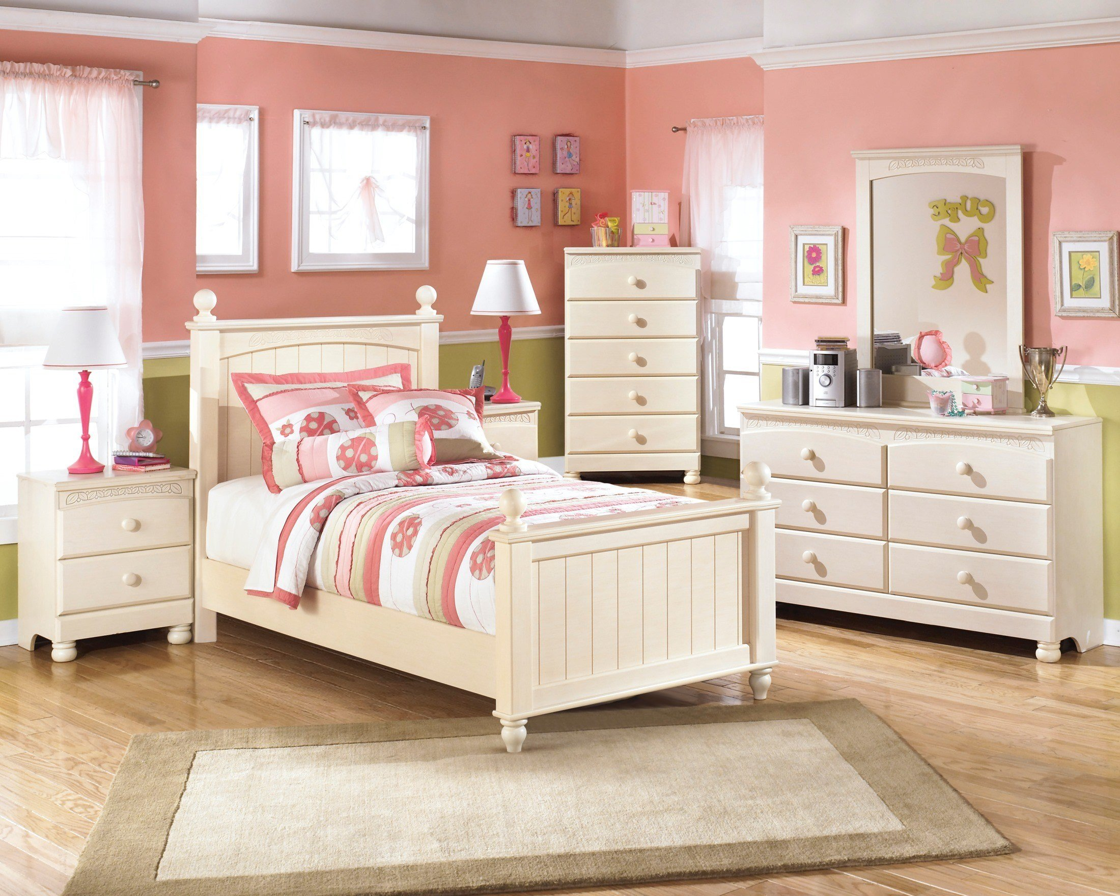 Best Furniture Cottage Retreat Poster Youth Bedroom Set B213 With Pictures