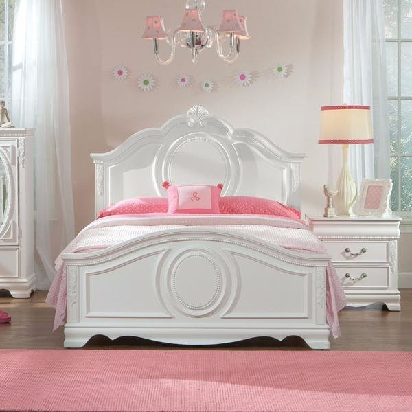 Best Jessica White Youth Bedroom Set – Adams Furniture With Pictures