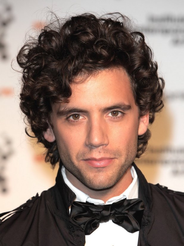 Free Curly Hairstyles For Men Wallpaper
