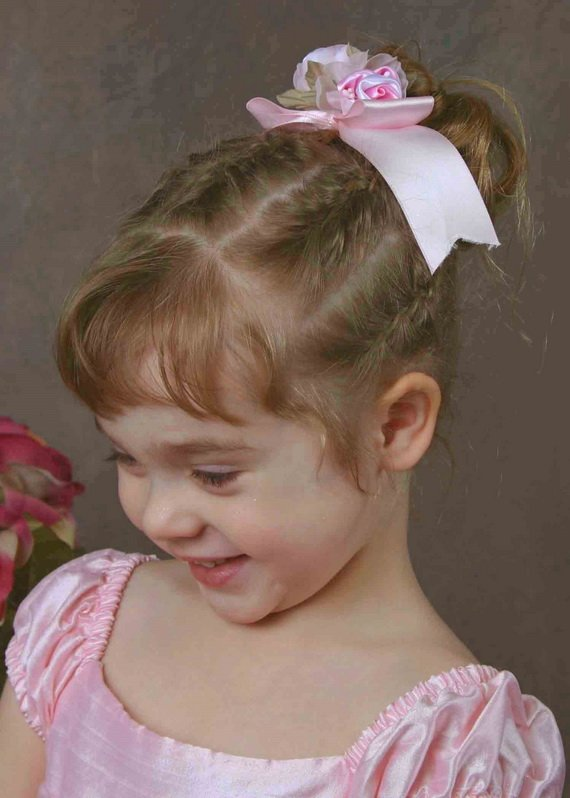 Free Short Pageant Hairstyles For Little Girls Wallpaper
