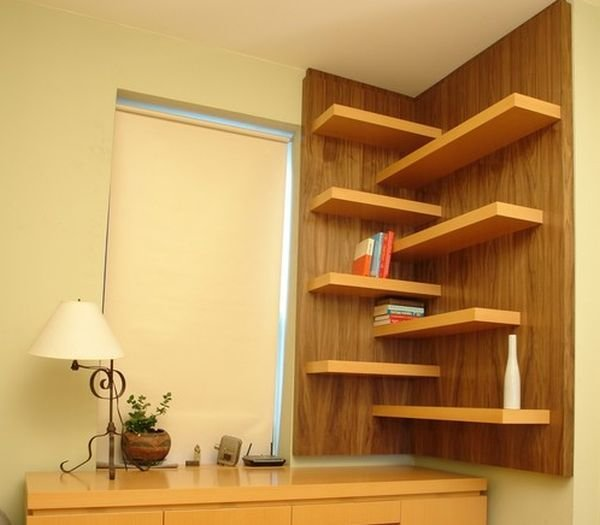 Best 15 Corner Wall Shelf Ideas To Maximize Your Interiors With Pictures