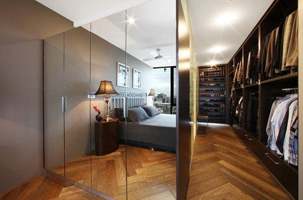 Best Modern Spaces With Mirrored Closet Doors With Pictures