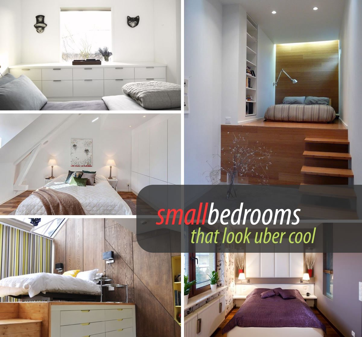Best Small Bedrooms Decoist With Pictures