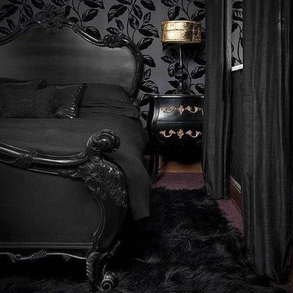 Best 13 Dark Bedrooms With A Subtle Halloween Vibe With Pictures