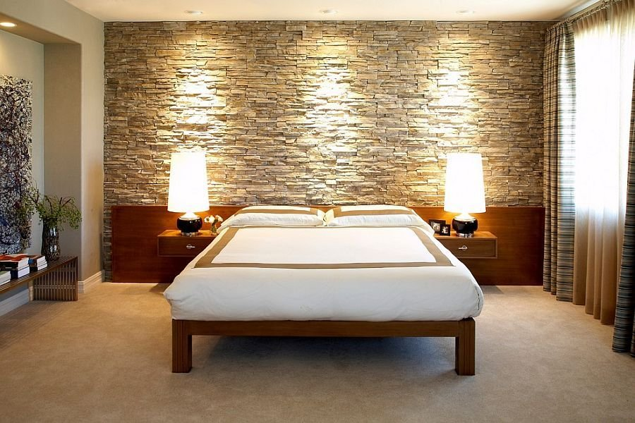 Best 25 Bedrooms That Celebrate The Textural Brilliance Of Stone Walls With Pictures