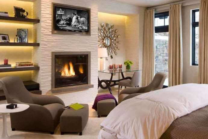 Best 45 Bedrooms With Fireplaces Make Winter A Lovely Season With Pictures