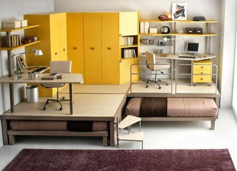 Best 25 Ideas Of Space Saving Beds For Small Rooms With Pictures
