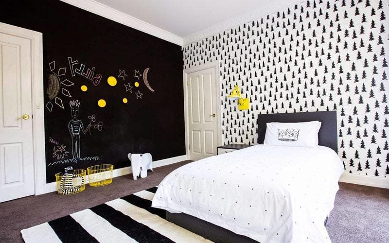 Best Creative Bedrooms With Chalkboard Walls And Inspirational With Pictures