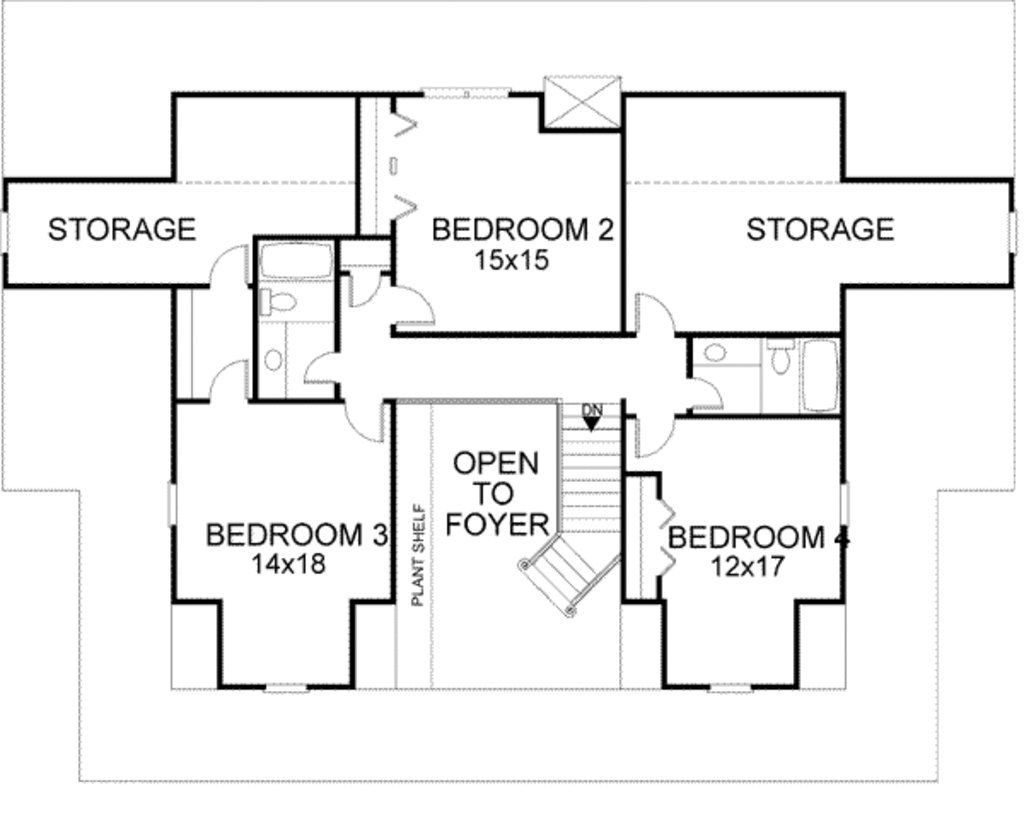 Best Farmhouse Style House Plan 4 Beds 3 5 Baths 3493 Sq Ft With Pictures