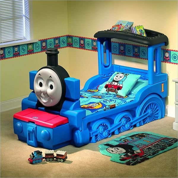 Best The Friendly Thomas Friends Train Bed For Kids With Pictures