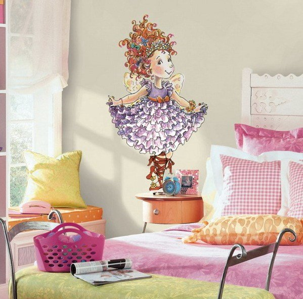 Best Diy Wall Murals For Little Girls Rooms With Pictures