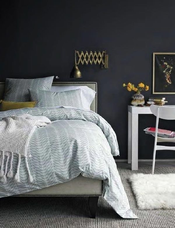Best Dark And Surprisingly Soothing Bedroom Walls With Pictures