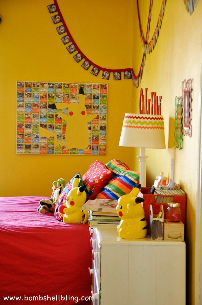 Best Pokemon Bedroom Reveal With Pictures