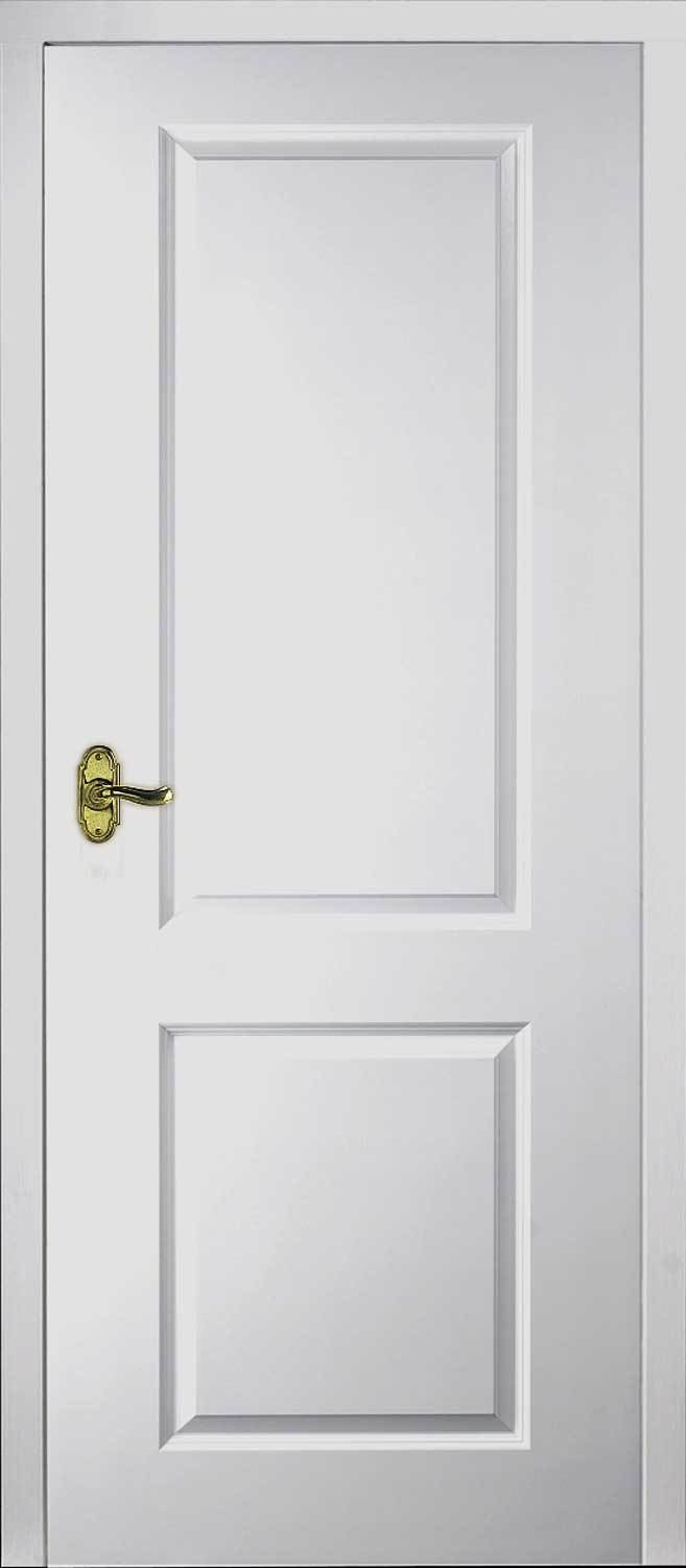 Best Half Light Manhattan Smooth Moulded White Door With Pictures