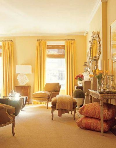 Best Home Decor Curtains With Yellow Walls Living Room With Pictures