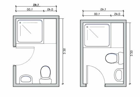 Best Toilet Size Dimensions Smallest Room Product Pertaining To With Pictures