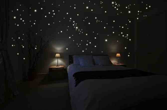 Best Diy Star Scape For The Kids Room Do It Yourself Fun Ideas With Pictures