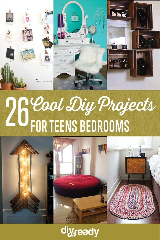 Best Diy Projects For Teens Bedroom Diyready Com Easy Diy With Pictures