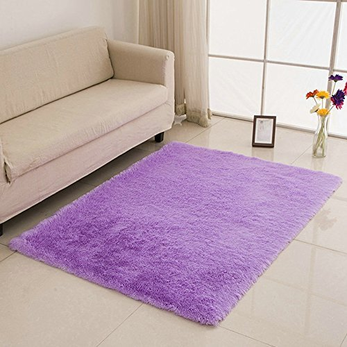 Best Soft Modern Sh*G Area Rugs Carpet Bedroom Rug Washable With Pictures