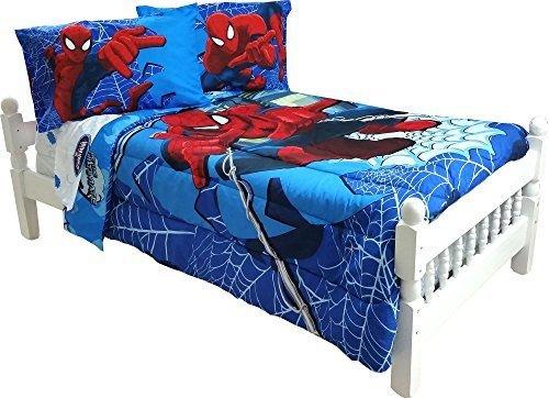 Best 5Pc Marvel Comics Spiderman Full Bedding Set Spidey With Pictures