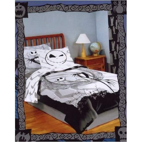 Best Amazon Com Nightmare Before Christmas Comforter Set With 1 Sham Bed And Bath Products With Pictures