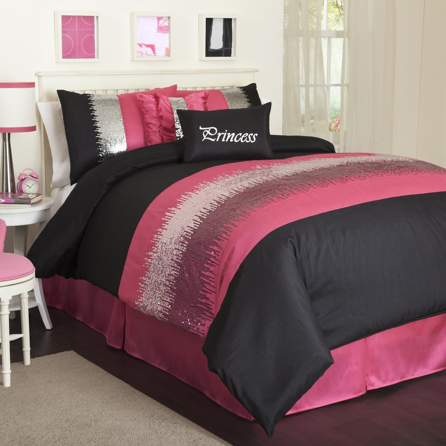 Best Black And Pink Bedding – Fel7 Com With Pictures