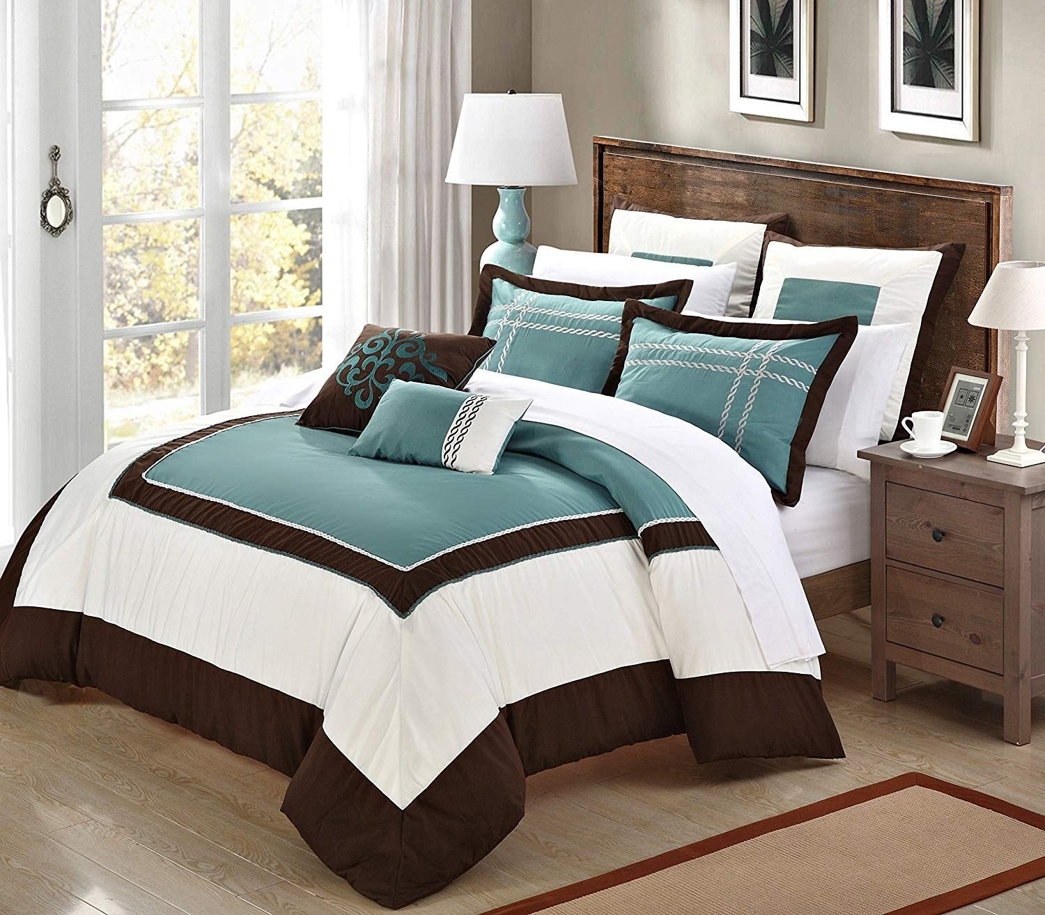 Best Teal And Brown Bedding With Pictures