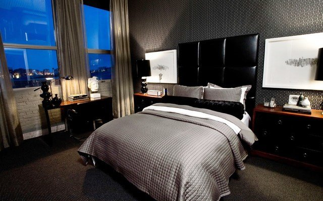 Best 34 Stylish Masculine Bedrooms Godfather Style With Pictures