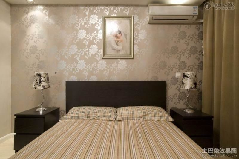Best Awesome Bedroom Wallpaper Ideas B Q Greenvirals Style With Pictures