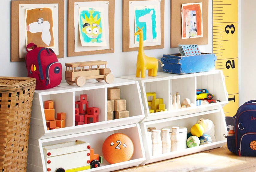Best Kids Storage Solutions Organizing Kids Rooms With Pictures