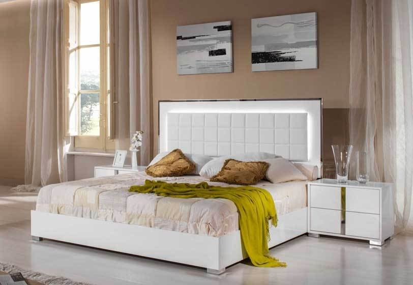 Best The Modrest San Marino Modern White Bedroom Set Review With Pictures