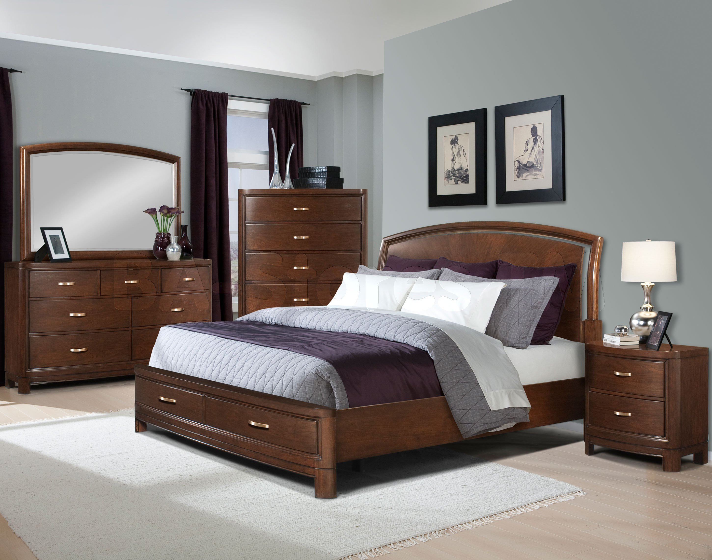 Best Bedroom Ideas Brown Leather Bed Home Delightful With Pictures